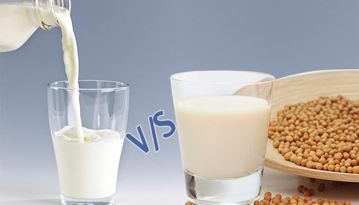 Mleko sojowe i krowie: moje porównanie